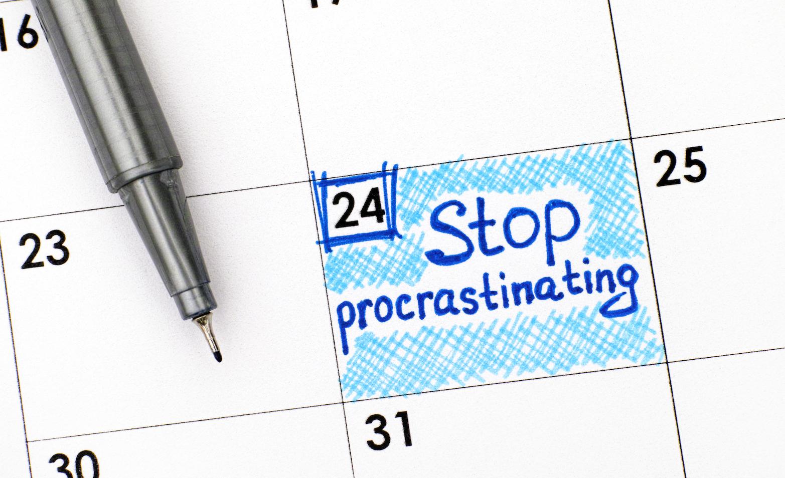 come-smettere-di-procrastinare