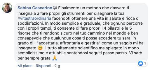 Testimonianza_Metodo_Sabina Cascarino